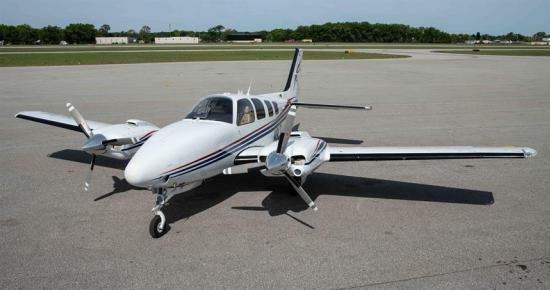 N9LT Beech Baron 58 — Central Jets
